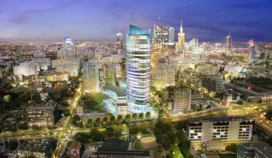 Centrum Warszawy zamienia się w Manhattan