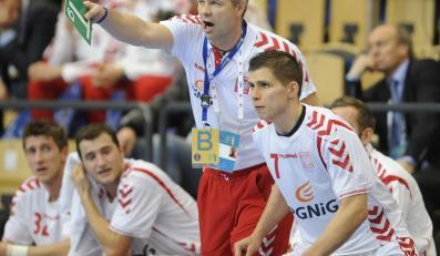 Bogdan Wenta z drużyną