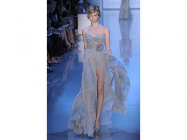 Paris Fashion Week - suknie Ellie Saaba z kolekcji Haute couture.