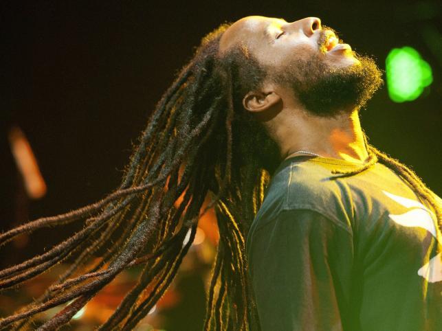 Ziggy Marley na Montreux Jazz Festival w Szwajcarii