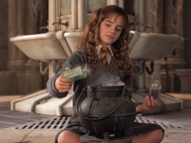 "Emma Watson w filmie ""Harry Potter i Komnata Tajemnic"""