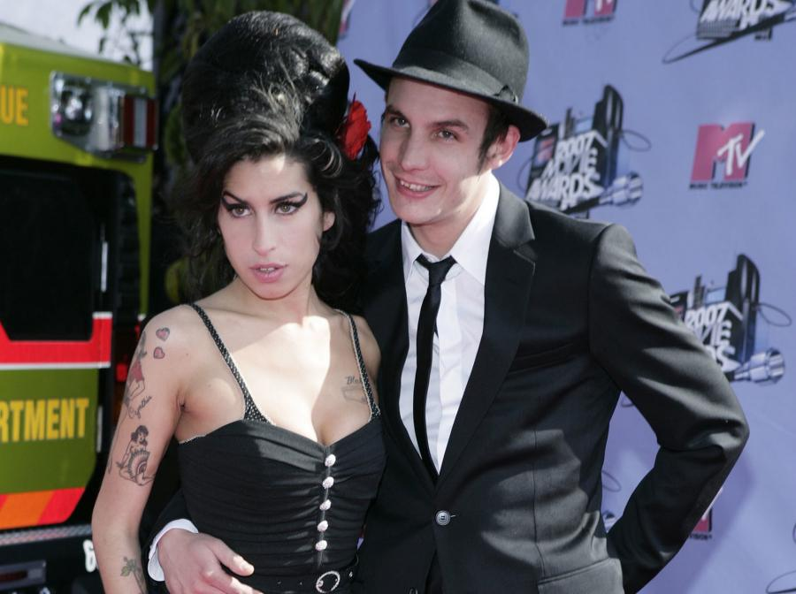 Amy i jej mąż Blake Fielder Civil na gali MTV Movie Awards w Los Angeles – czerwiec 2007