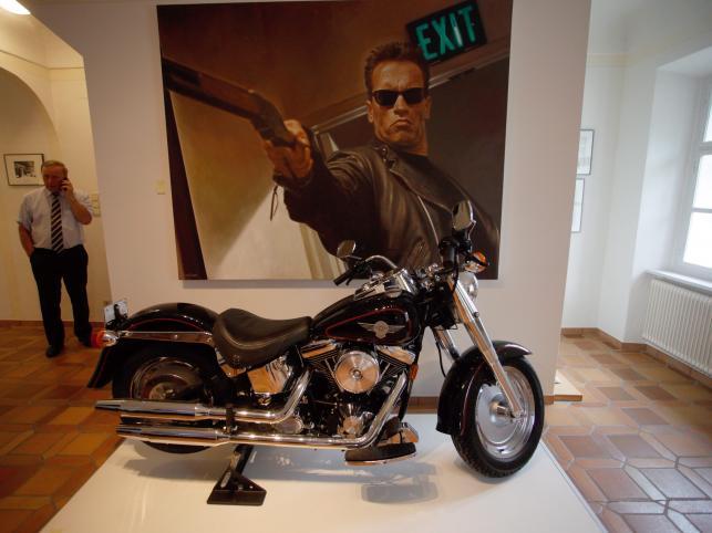 """Harley Davidson z filmu """"Terminator"""""""