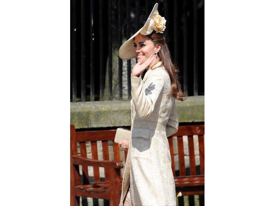 Księżna Catherine na ślubie Zary Phillips, wnuczki królowej Elżbiety II