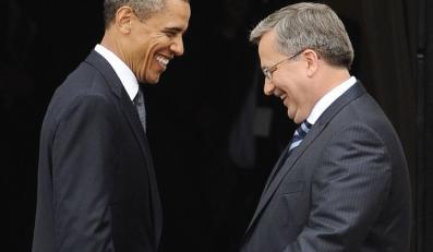 rack Obama i Bronisław Komorowski