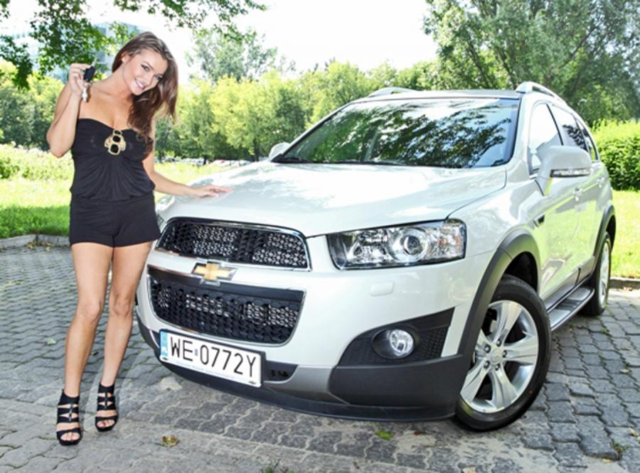 Marta Krupa i jej nowe cacko - chevrolet captiva