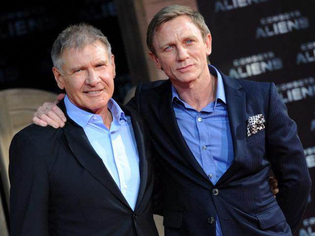 Harrison Ford i Daniel Craig