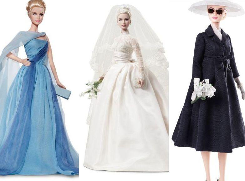 Barbie w kultowych strojach Grace Kelly