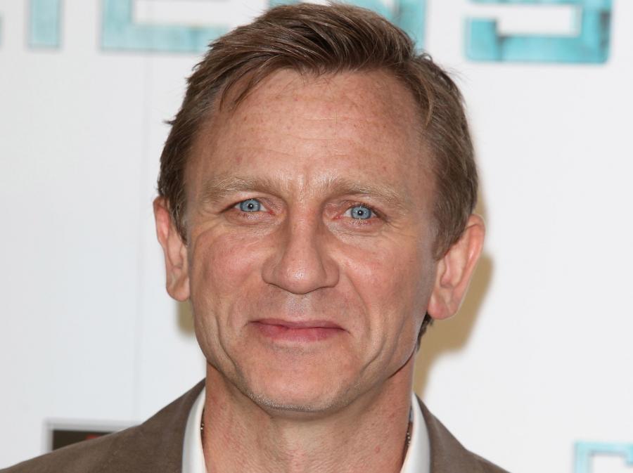 Daniel Craig pracuje na planie ekranizacj książki Larssona