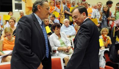 Zbigniew Romaszewski i Marusz Kamiński