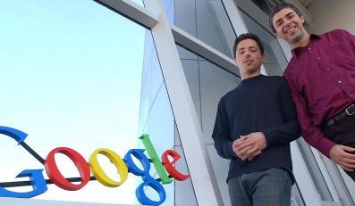 Siergiej Brin (z lewej) i Larry Page - twórcy wyszukiwarki Google