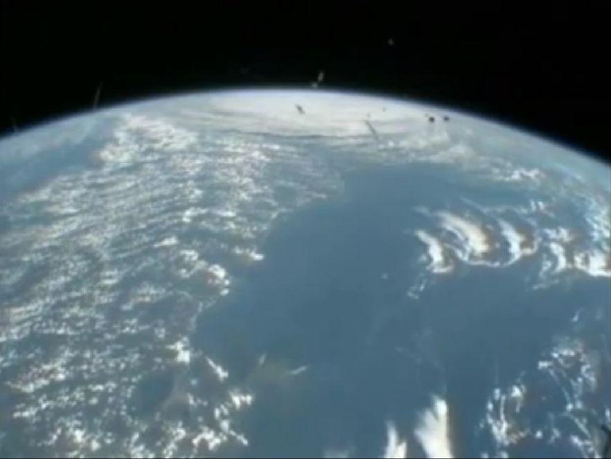 NASA publikuje wideo z huraganem Irene widzianym z kosmosu