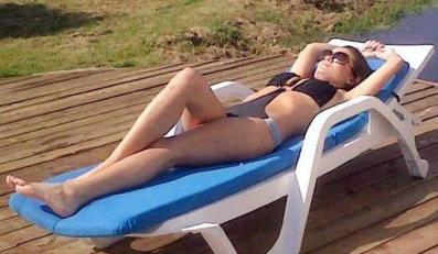 Marta Krupa w kostiumie kąpielowym. Fot. Avant Models