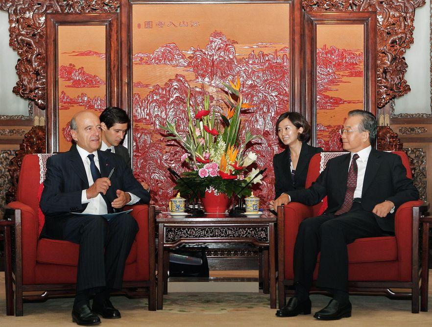 Chiński premier gościł w Pekinie francuskiego ministra spraw zagranicznych Alaina Juppe