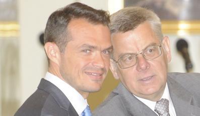 Sławomir Nowak i Tomasz Nałęcz