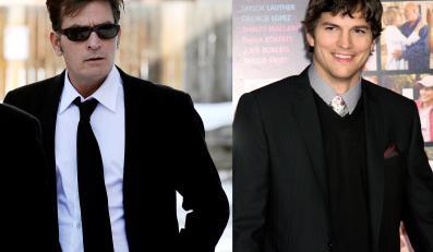 Charlie Sheen kontra Ashton Kutcher