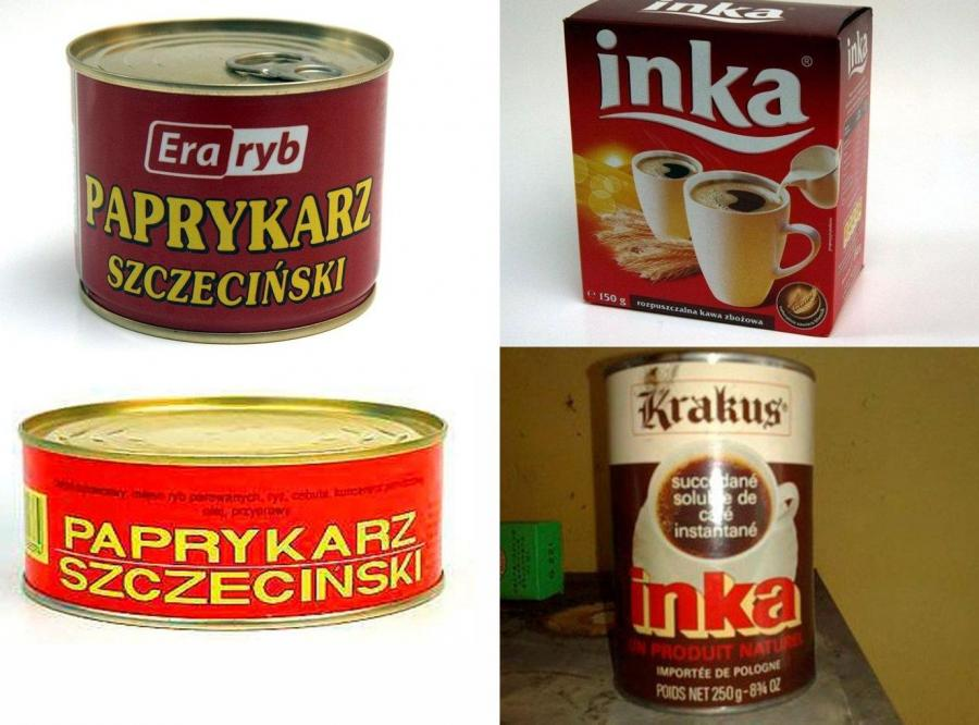 Paprykarz Szczeciński i kawa Inka