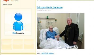 Zdjęcie z wizyty Wałęsa zamieścił na swojej stronie internetowej