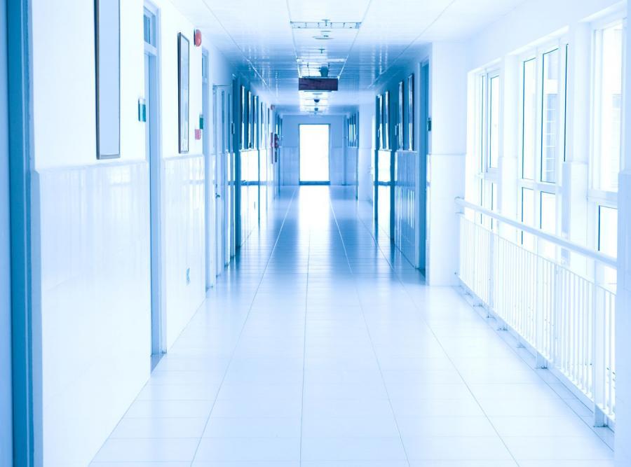 Obrona pracy magisterskiej w szpitalu