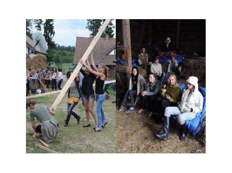 Uczestniczki programu miały na obozie wiele zajęć.