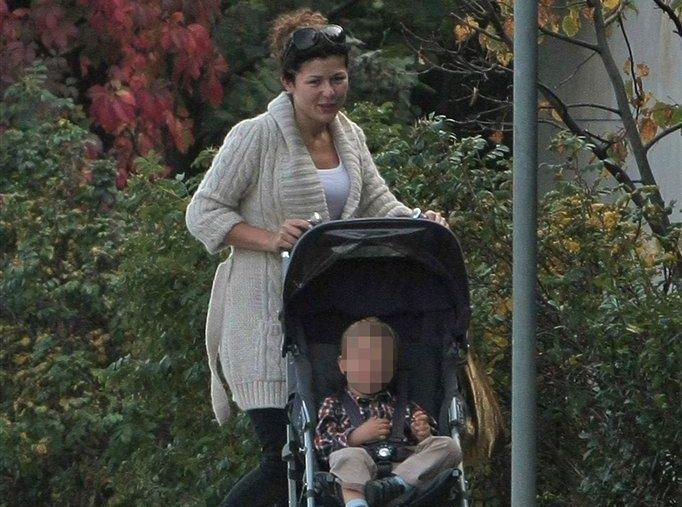 Katarzyna Cichopek z synkiem