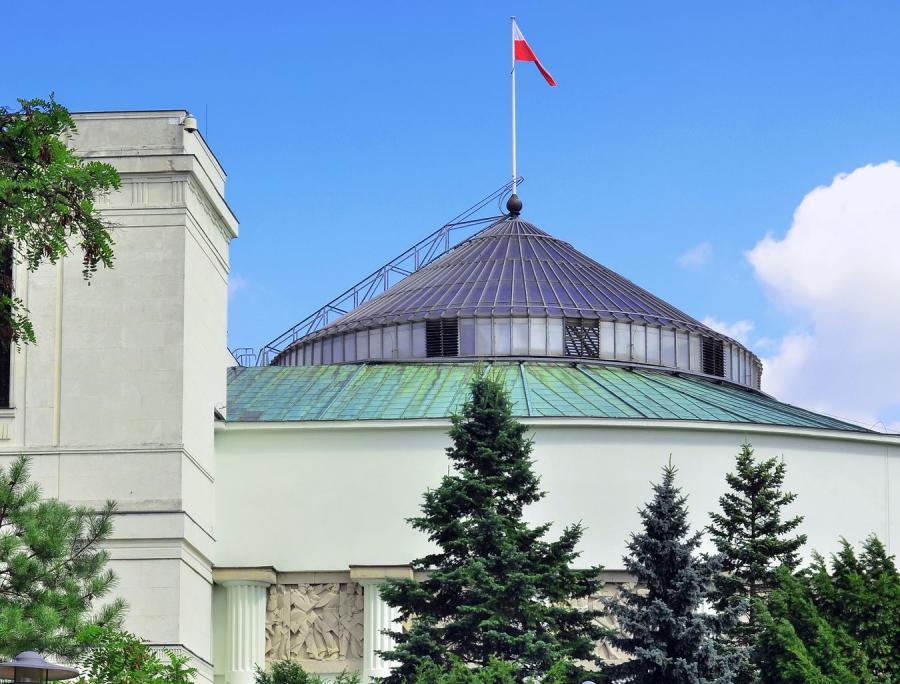 Gmach polskiego Sejmu
