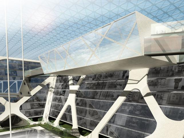 Stacja metra jest bezpośrednio w inwestycji