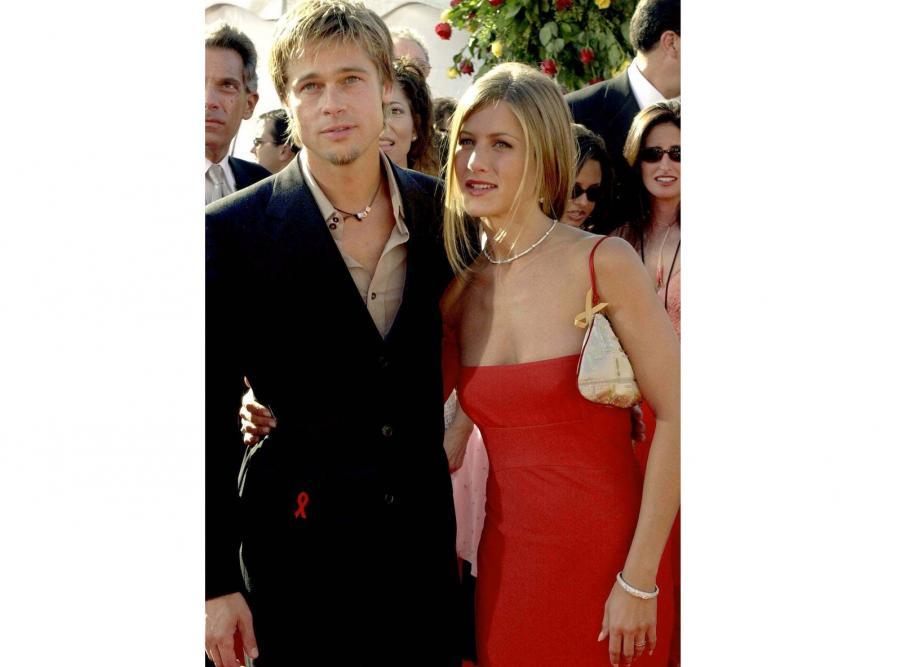 Jennifer Aniston i Brad Pitt najgorętsi