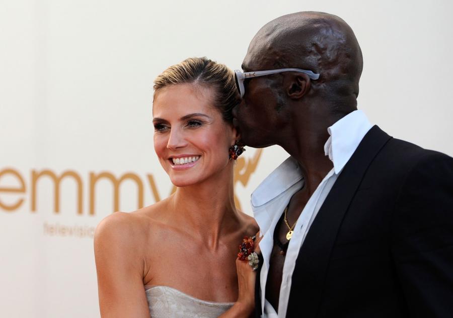 Seal z żoną Heidi