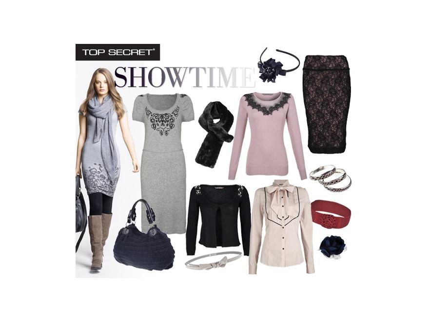 Linia Showtime w kolekcji Top Secret.