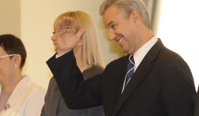 Były minister infrastruktury Cezary Grabarczyk