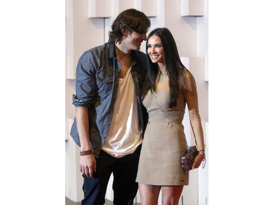 Demi i Ashton