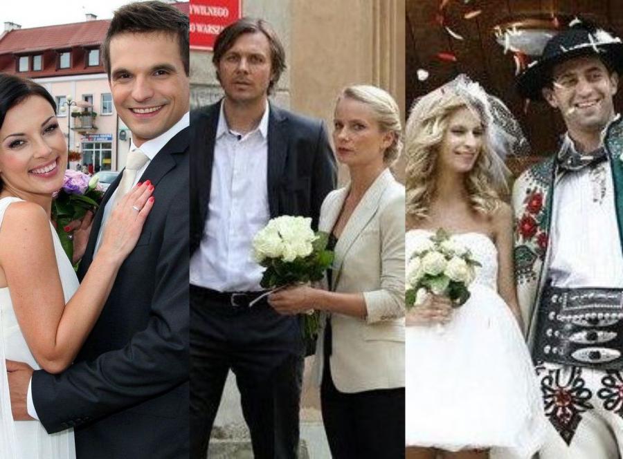 Śluby w serialach
