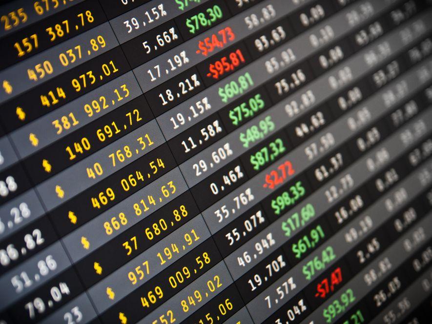 Tabela indeksów giełdowych