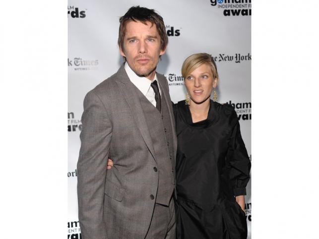 Ryan Shawhughes - niania, z którą Etan Hawkę zdradził żonę Umę Thurman, wyszła za aktora za mąż i urodziła mu dziecko