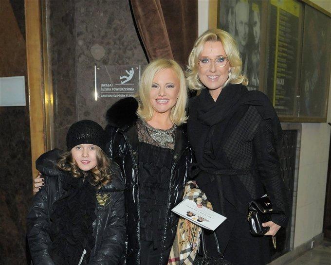 Młynarska z przyjaciółką i jej córką