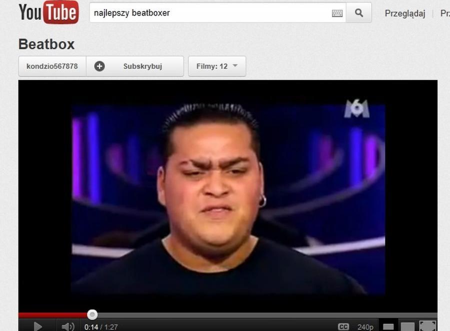 Najlepszy beatboxer świata?