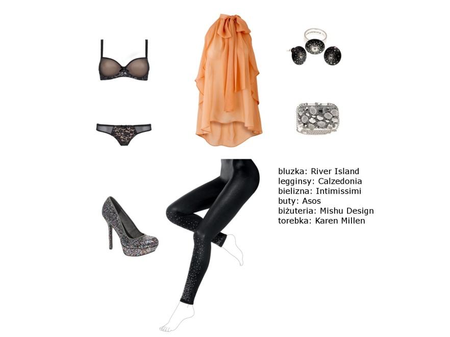 Jak się ubrać na sylwestra 2011 - modne stylizacje.