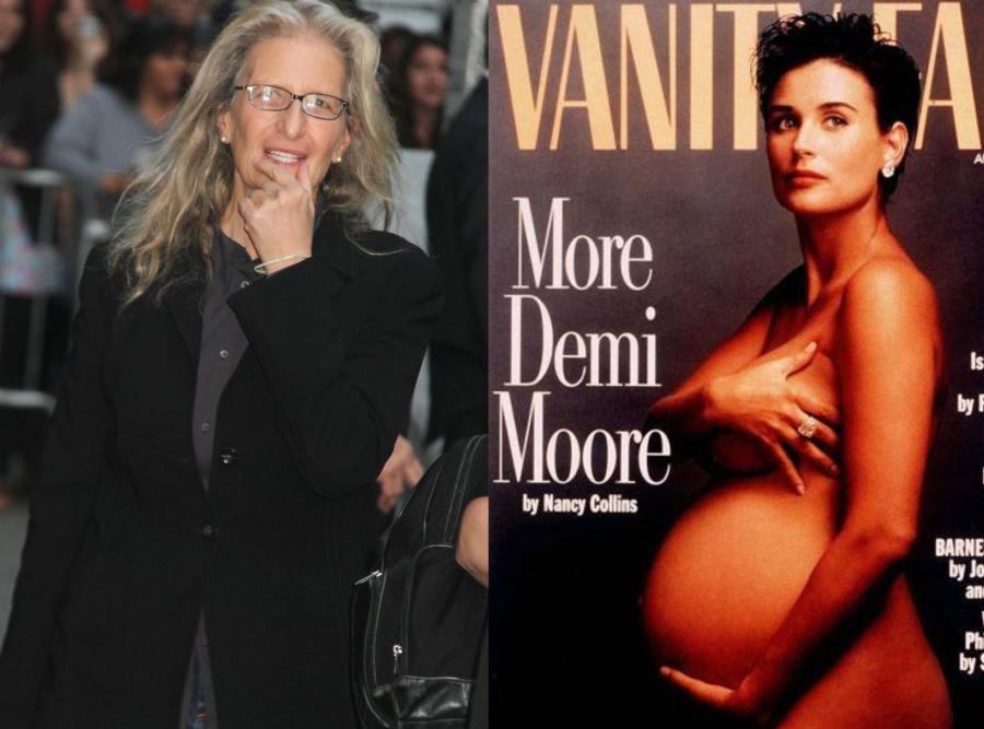 Annie Leibovitz i jej słynne zdjęcie Demi Moore