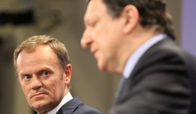 Donald Tusk i Jose Manuel Barroso