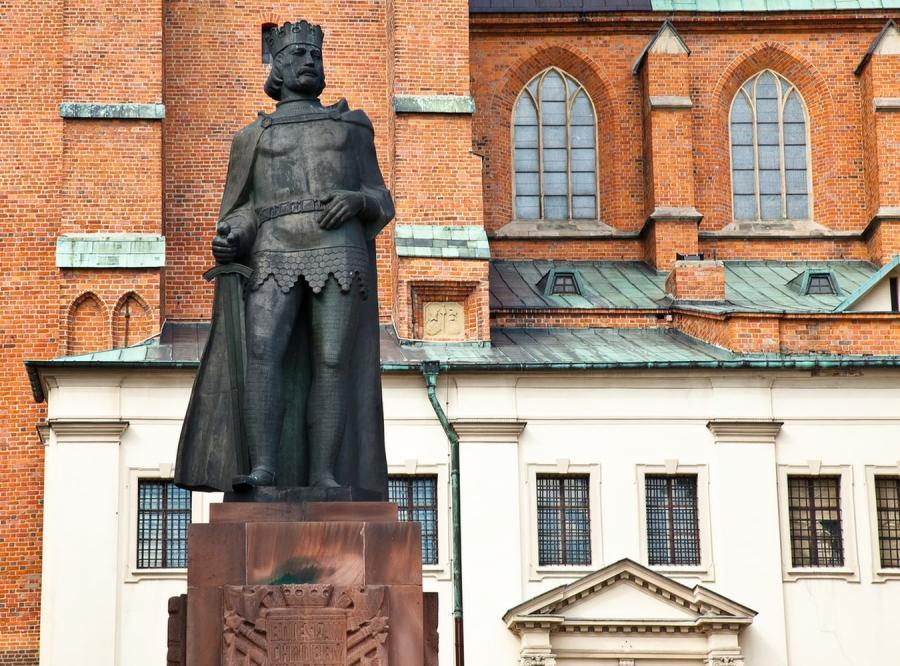 Pomnik Bolesława I Chrobrego w Gnieźnie