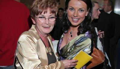 Katarzyna Glinka z mamą Krystyną