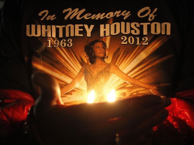 Ostatnie pożegnanie Whitney Houston