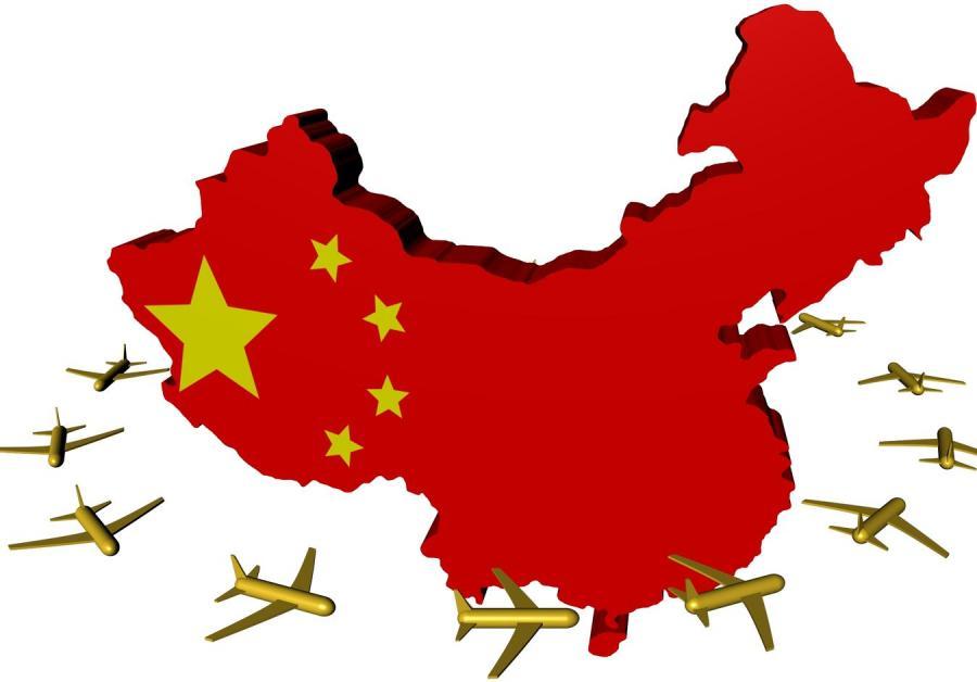 Mapa Chińskiej Republiki Ludowej