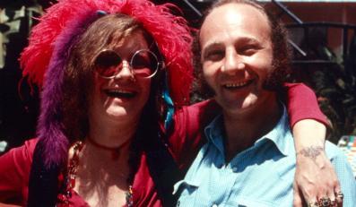 Janis Joplin i Paul Rothchild / foto Clark J. Pierson