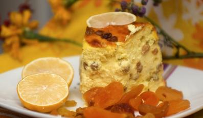 Pascha - ciasto serowe - nie tylko na Wielkanoc