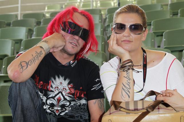 Michał Wiśniewski i Dominika Tajner