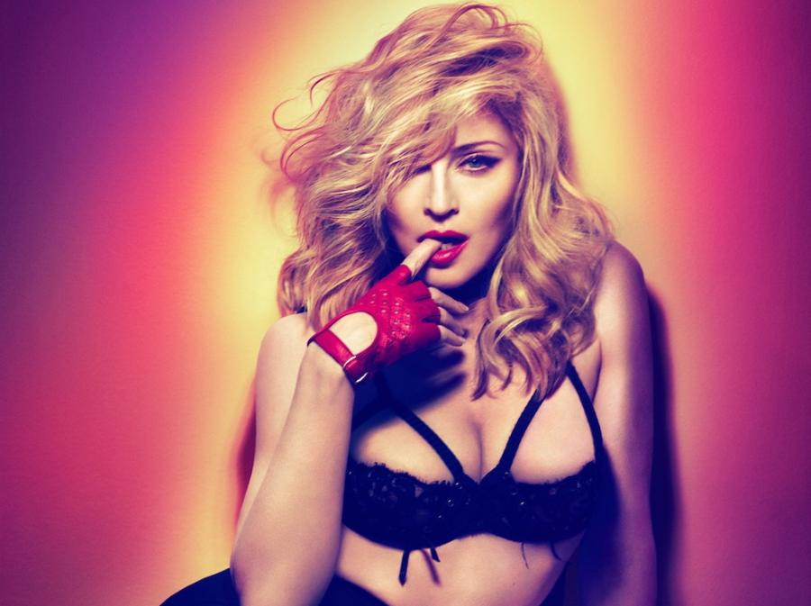 "Madonna na zdjeciu z sesji do ""MDNA"" (2012)"
