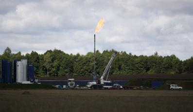Poszukiwania gazu łupkowego w Lebieniu
