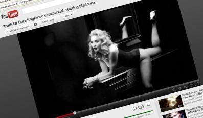 Madonna w zakazanej reklamie perfum